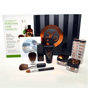0003770 Ygy Mineral Makeup Starter Kit With Foundation Samples 300