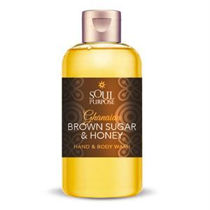 0004319 Ghanaian Brown Sugar Honey Hand Body Wash 300