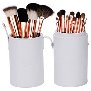 0005502 Mineral Makeup Brush Kit White Case 300