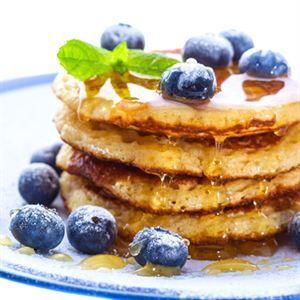 0007076 Gofoods Premium Blueberry Pancakes 300
