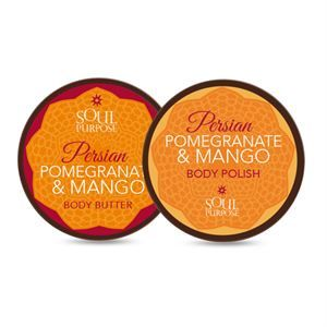 0008052 Pomegranate Mango Body Glow Set 300