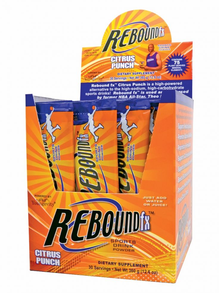 13231 Rebound Fx Citrus Punch Stick Packs Opened Box 0714 1