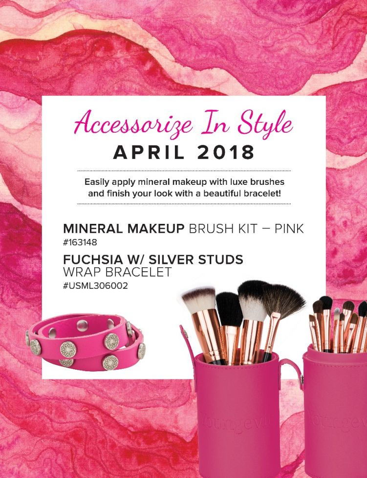 Mineral Makeup Of The Month Club April